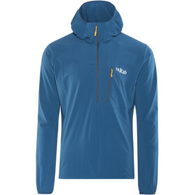 Rab Borealis Pull-on Midlayer Heren blauw